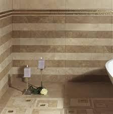 retro bathroom tile design ideas come with white brown ceramic