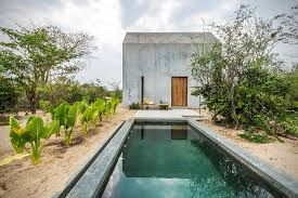 Tiny Homes Hawaii by Casa Tiny Concrete Surf House In Mexico Hiconsumption