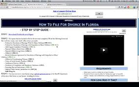Florida Child Support Guidelines Worksheet Free Florida Divorce Papers And Forms Youtube