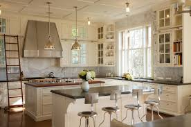 White Kitchen Cabinets Shaker Style Kitchen White Marble Calcutta Gold Open Shelves Gold Black Vent