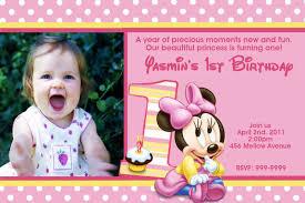 babys first birthday invitations ideas adorable 1st birthday