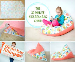 home sew catalog sew a kids bean bag chair in minutes project nursery kids bean bag
