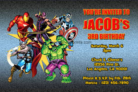 free printable avengers birthday party invitations stephenanuno com