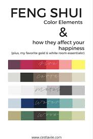 feng shui color elements u0026 how they affect your happiness feng