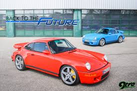 ruf porsche 993 ruf ultimate and scr 4 2 back to the future 9tro