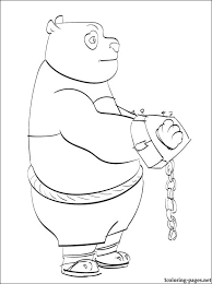 kung fu panda printable coloring pages kids coloring pages