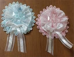 baby shower capias wedding guest lapel ribbons baptism communion corsage capias