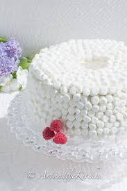 Angel Decorated Cake Homemade Angel Food Cake Art And The Kitchen