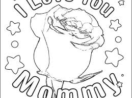 free printable roses coloring pages for kids coloring page rose