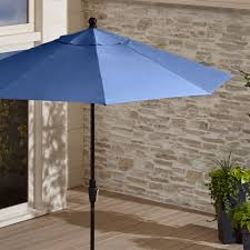 Outdoor Patio Umbrella 9 Charcoal Black Patio Umbrella In Patio Umbrellas Reviews