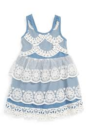 trendy lace dresses for baby girls for summer wedding guest season