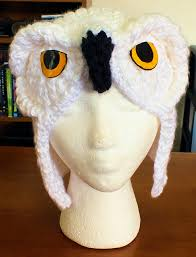 Snowy Owl Halloween Costume by The Loom Muse October 2014