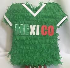 soccer party supplies mexico jersey pinata green color soccer party supplies ebay