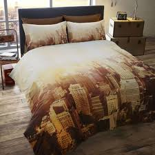 New York City Duvet Cover Luxury Photographic Double Duvet Quilt Cover Bedding Set
