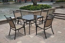Cheap Outdoor Tables Impressive Aluminium Outdoor Furniture Popular Aluminium Patio