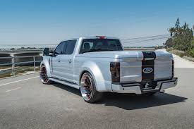 widebody truck bolstering blue oval