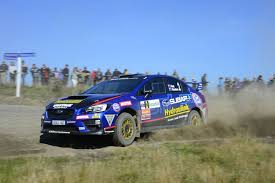 hunt keen to move up the points table at rally waitomo subaru of