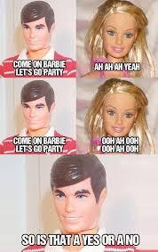 Barbie Girl Meme - 86 best i m a barbie girl in a f d up world images on pinterest ha