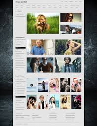 video gallery bootstrap themes templatemonster
