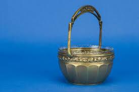 antique pot metal ls antique elegant brass fruits serving arts crafts condiment pot