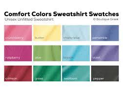 Comfort Colors Chalky Mint Adpi Classic Sweatshirt Boutique Greek