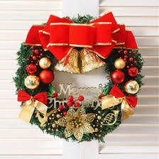 Christmas Wreath Decorations Wholesale Uk by Christmas Ball Ornament Wreath Online Christmas Ball Ornament