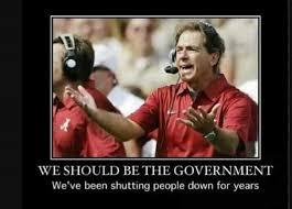 Alabama Football Memes - bama should be government meme bama football rtr pinterest