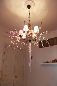 mila u0027s daydreams nursery cherry blossom chandelier