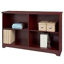 Classic Bookcase Realspace Magellan Collection 2 Shelf Sofa Bookcase Classic Cherry