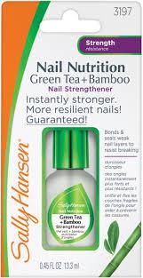 nail nutrition green tea bamboo nail strenghtener