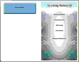 Free Funeral Programs 6 Free Printable Funeral Program Templateagenda Template Sample