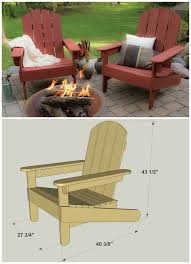 Homemade Adirondack Chair Plans 20 Diy Furniture And Woodworking Projects Sky Rye Design