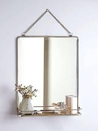 Bathroom Shelf With Mirror Shelf Mirror Bathroom Wall Mirror Shelf Bathroom Mirror
