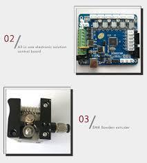 Diy Kit by Zonestar P802qr2 Double Extruders 3d Printer Diy Kit Us Plug