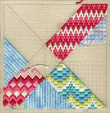 terry dryden needlework designs color texture stitch intro to
