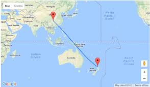 auckland australia map non stop from auckland to china from only nz 494