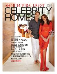 exclusive access to celebrity homes architectural digest