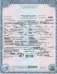 official birth certificate template sample birth certificate