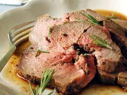 leg of lamb with herbs and mustard recipe myrecipes