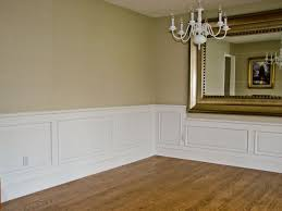 Hardwood In Powder Room Powder Room With Raised Panel Wainscoting Decorative Raised
