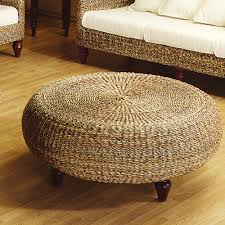 Patio Chair With Ottoman Set Furniture Outdoor Pouf Wicker Chair Ottoman Wicker Ottoman