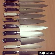 kitchen knife collection chef alek collection of nenox knives