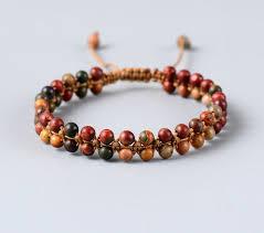 fashion braided bracelet images High fashion picasso stone braided bracelet handmade string jpg