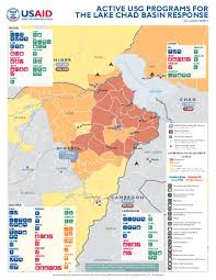 Chad Map Document Active Usg Programs For The Lake Chad Basin Response
