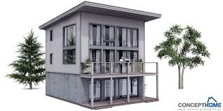 Small House Plan CH99 architectural design Small Home Design with