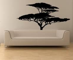 vinyl wall decal sticker african tree osmb554s