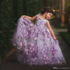 2017 sale pretty girls prom dresses ball gown purple lace