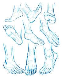 feet sketches by washu m on deviantart