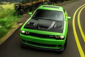widebody hellcat green dodge challenger srt hellcat news and reviews motor1 com