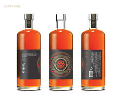 alcoholic drinks brands korean craft liquor brand u0026 bottle packaging design on behance